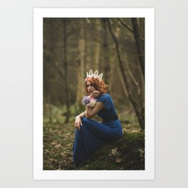 Deep in Forest Art Print