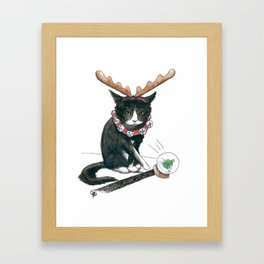 OOPS. Framed Art Print