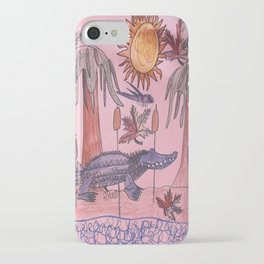 Swamp Hunt iPhone Case