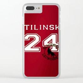 STILINSKI 24 Teen Wolf Beacon Hills Lacrosse Clear iPhone Case