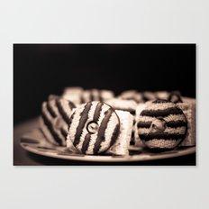 camera treats Canvas Print