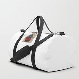 Red Tent Rune Duffle Bag