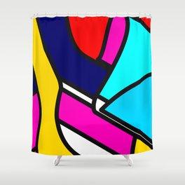 Abstract Art #5 Shower Curtain
