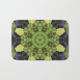 Filigree Foliage Kaleidoscope Bath Mat