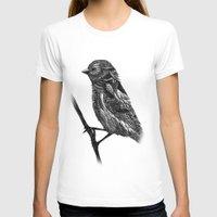 ornate T-shirts featuring Ornate Bird by ZantosDesign