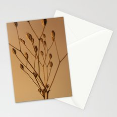 Florales · plant end 3 Stationery Cards
