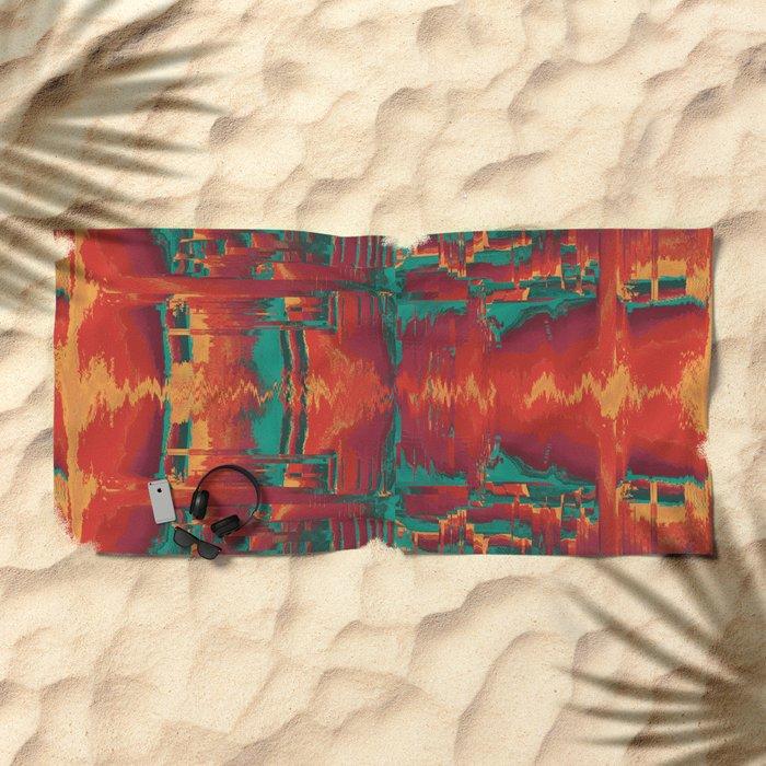 scrtlvl Beach Towel