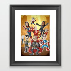 group Framed Art Print