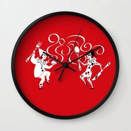 Delicious Deck: The Jokers Wall Clock