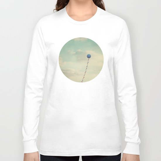 Blue Balloon  Long Sleeve T-shirt