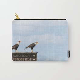 Crested Cara Cara Hawks Carry-All Pouch
