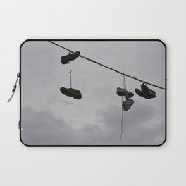 Shoes In The Air Laptop Sleeve