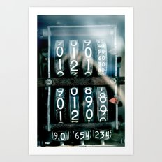 Magic numbers Art Print