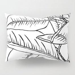 Leaves Line Pillow Sham