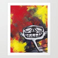 Grimace Art Print