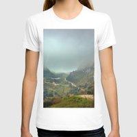 europe T-shirts featuring Peaks of Europe by Svetlana Korneliuk