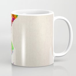 Sweden Map in Watercolor Coffee Mug