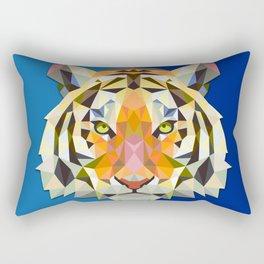 Graphic Tiger Rectangular Pillow