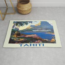 Vintage poster - Tahiti Rug
