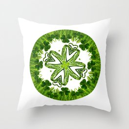 Greenery No. 3 Throw Pillow