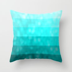 Teal Dream Throw Pillow