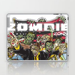 Zombie Zone Laptop & iPad Skin