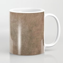 Old brown cracked background Coffee Mug