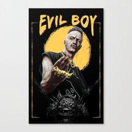 Ninja - Evil Boy Canvas Print