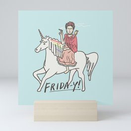 Friday Mini Art Print