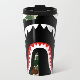 Bape Shark Pattern Travel Mug