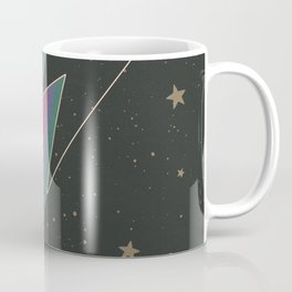 Lightening Bolt, Bowie, Cosmic Art Coffee Mug