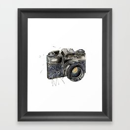 Take A Picture ! Framed Art Print