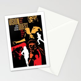 80s TEEN MOVIES :: VISION QUEST Stationery Cards