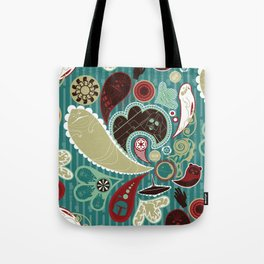 A Long Time Ago In A Paisley Far Far Away Tote Bag