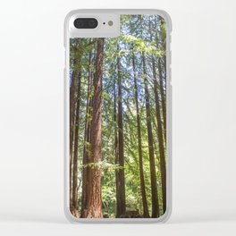 Redwood Grove Clear iPhone Case