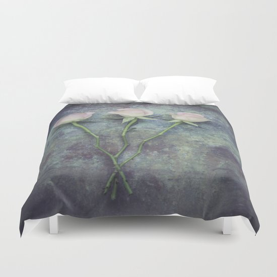 Three Roses II Duvet Cover