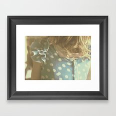 Carlotta's Youth Framed Art Print
