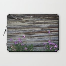 Cabin with Flowers Laptop Sleeve