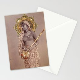Woman from Bengal Stationery Cards