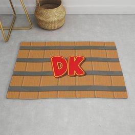 Donkey Kong Barrel Rug