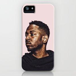 Kendrick Lamar Pop Art Print iPhone Case