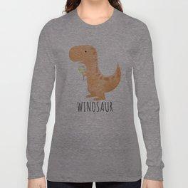 Winosaur | White Wine Long Sleeve T-shirt