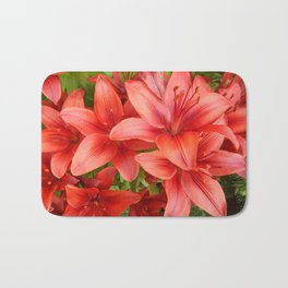 """A Gathering of Lilies"" - 5 [D4471~15] Bath Mat"