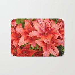 """""""A Gathering of Lilies"""" - 5 [D4471~15] Bath Mat"""