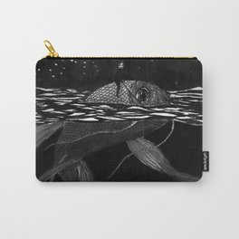 Riding a fish Carry-All Pouch