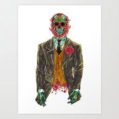 El Senador Es  Vivo  Art Print