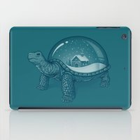 turtles iPad Cases featuring Home Sweet Home by Enkel Dika