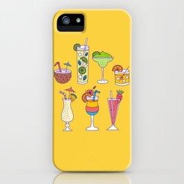 Tropical Libations iPhone Case