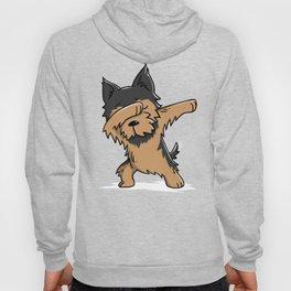 Funny Yorkshire Terrier Dabbing Hoody
