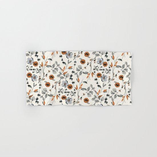 Floral pattern Flowers Hand & Bath Towel